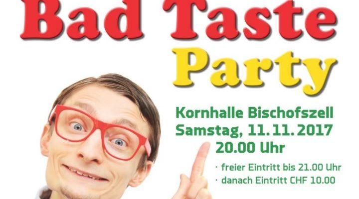 Vorrundenabschluss An Der Bad Taste Party Feiern